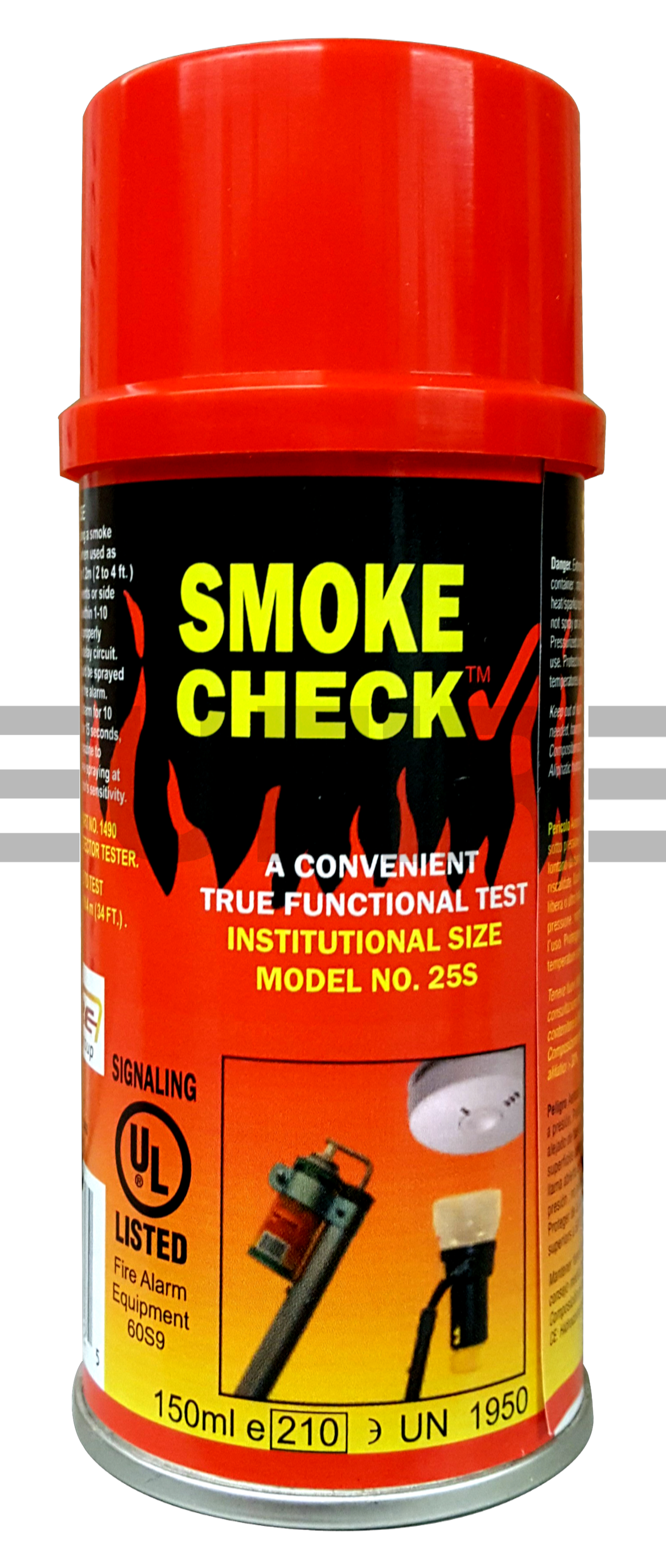 smoke check test gas for smoke pole product eu fire and security. Black Bedroom Furniture Sets. Home Design Ideas
